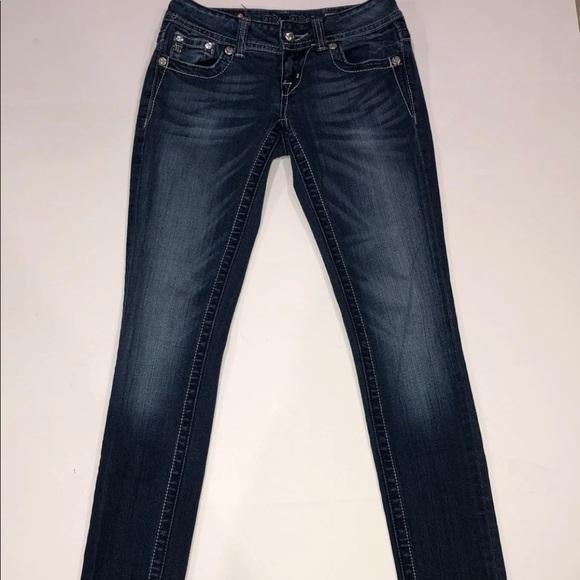 Miss Me Denim - Miss Me JP56195 Skinny Jeans Size 27